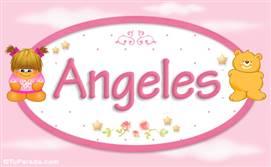 Angeles - Nombre para bebé