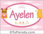 Ayelen - Nombre para bebé