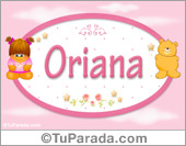 Nombre Nombre para bebé, Oriana