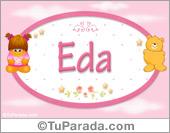 Eda - Nombre para bebé