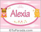 Alexia - Nombre para bebé