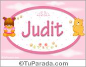 Judit - Nombre para bebé