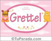 Nombre Nombre para bebé, Grettel
