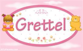 Grettel - Nombre para bebé