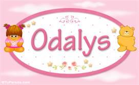 Odalys - Nombre para bebé