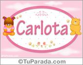 Carlota - Nombre para bebé