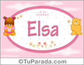 Elsa - Nombre para bebé