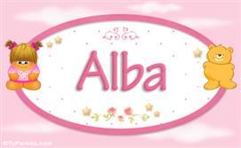Alba - Nombre para bebé