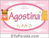 Agostina - Nombre para bebé