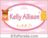 Nombre Nombre para bebé, Kelly Allison