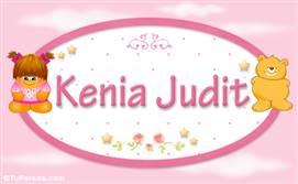 Kenia Judit - Nombre para bebé