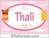 Nombre Nombre para bebé, Thali