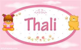 Thali - Nombre para bebé