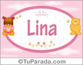 Nombre Nombre para bebé, Lina