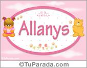 Allanys - Nombre para bebé