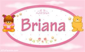 Briana - Nombre para bebé