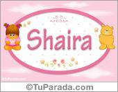 Shaira - Nombre para bebé