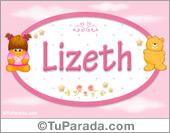 Nombre Nombre para bebé, Lizeth