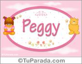Peggy - Nombre para bebé
