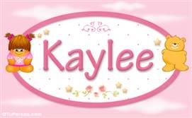 Kaylee - Nombre para bebé