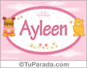 Ayleen - Nombre para bebé