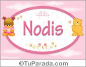 Nodis - Nombre para bebé