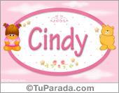 Cindy - Nombre para bebé