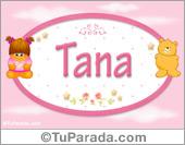 Nombre Nombre para bebé, Tana