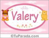 Nombre Nombre para bebé, Valery