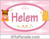 Nombre Nombre para bebé, Helem