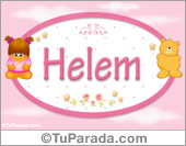 Helem - Nombre para bebé
