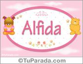 Alfida - Nombre para bebé