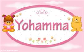 Yohamma - Nombre para bebé