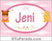 Nombre Nombre para bebé, Jeni