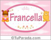 Francella - Nombre para bebé