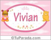Vivian - Nombre para bebé