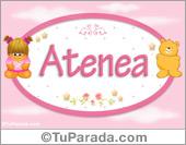 Atenea - Nombre para bebé