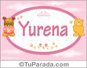 Nombre Nombre para bebé, Yurena
