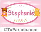 Stephanie - Nombre para bebé