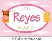 Reyes - Nombre para bebé