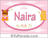 Naira - Nombre para bebé