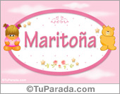 Nombre Nombre para bebé, Maritoña