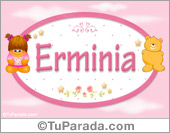 Nombre Nombre para bebé, Erminia