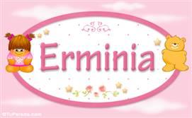 Erminia - Nombre para bebé