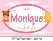 Nombre Nombre para bebé, Monique