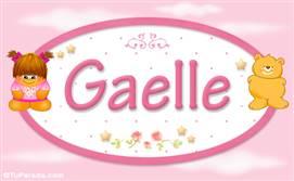 Gaelle - Nombre para bebé