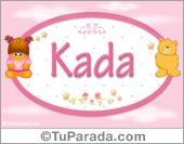 Kada - Nombre para bebé