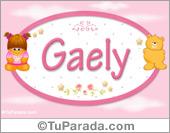 Nombre Nombre para bebé, Gaely