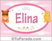 Nombre Nombre para bebé, Elina