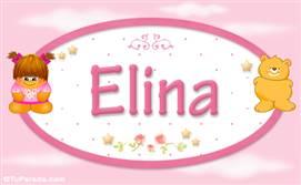 Elina - Nombre para bebé